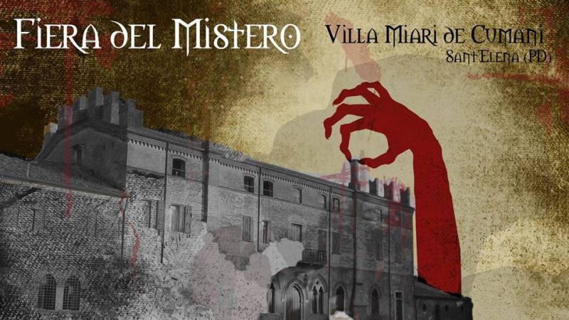 La magica Fiera del Mistero che si terrà l'anno prossimo in Veneto!