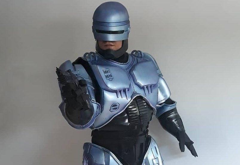 Un ottimo cosplay di RoboCop che arriva dal Brasile!