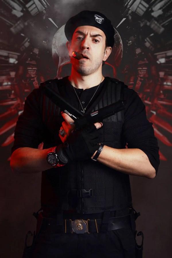 barney ross i mercenari cosplay