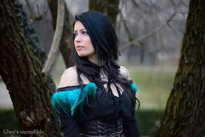 Il cosplay di Yennefer della celebre saga di The Witcher