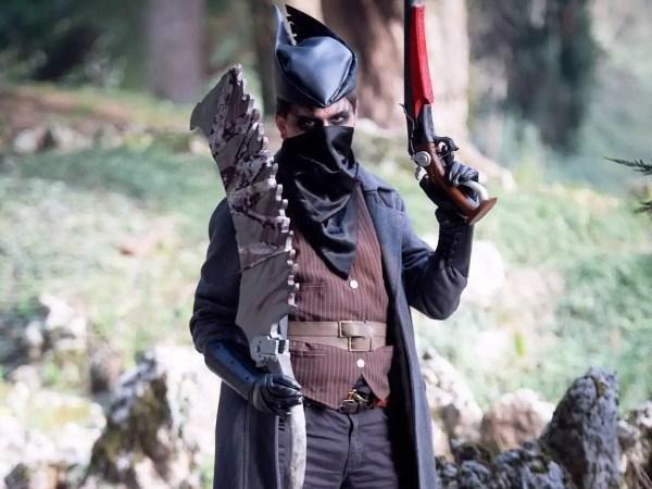 Un ottimo cosplay da Cacciatore dell'acclamato videogioco Bloodborne!