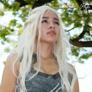 La cosplayer Kate Mont è proprio lei, Daenerys Targaryen, la Madre dei Draghi!