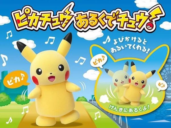 Il nuovo Pikachu, un vero robottino interattivo!