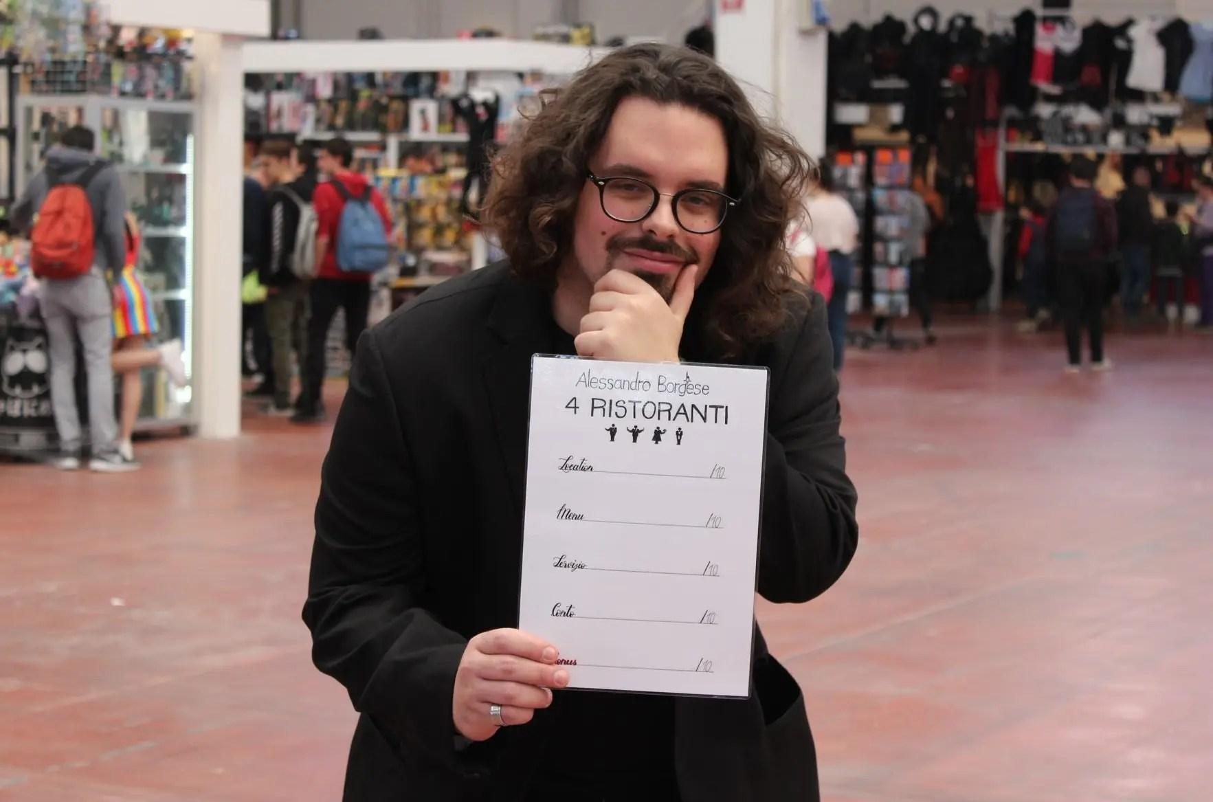 Ecco a voi Federico Pretin, il Cosplayer in Borghese – Voto Diesci!