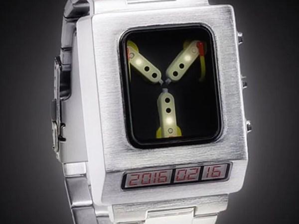 Un orologio che viaggia nel tempo!