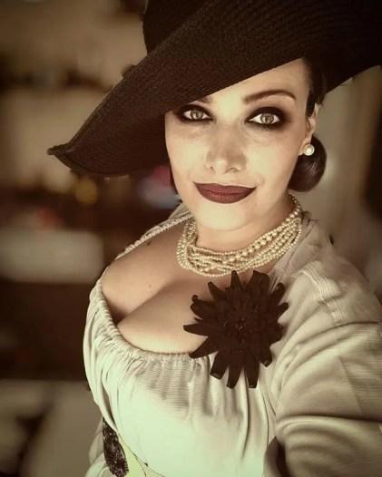 alcina dimitrescu resident evil village cosplay