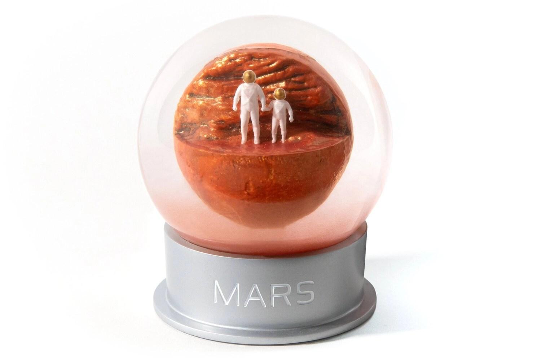 Una tempesta di sabbia su Marte in miniatura!