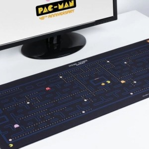 Il tappetino da scrivania di Pac-Man!