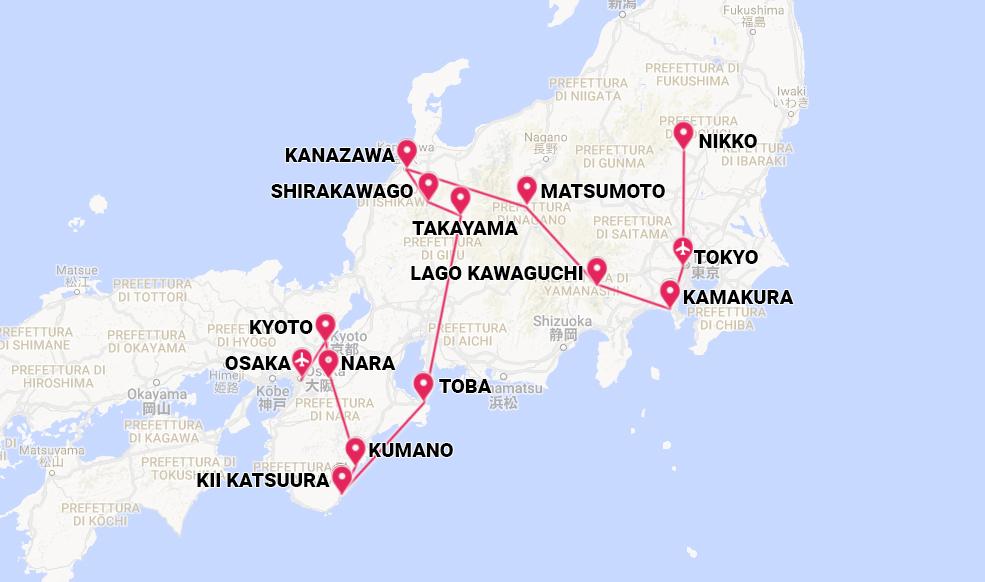 Giappone per la fioritura dei ciliegi  Viaggio di gruppo