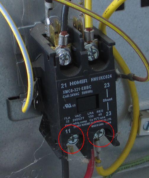 Condenser Relay Wiring Diagram