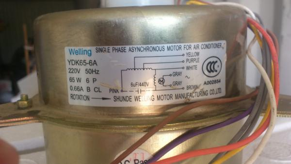 motor start capacitor wiring diagram ids network split ac outdoor fan connection - doityourself.com community forums
