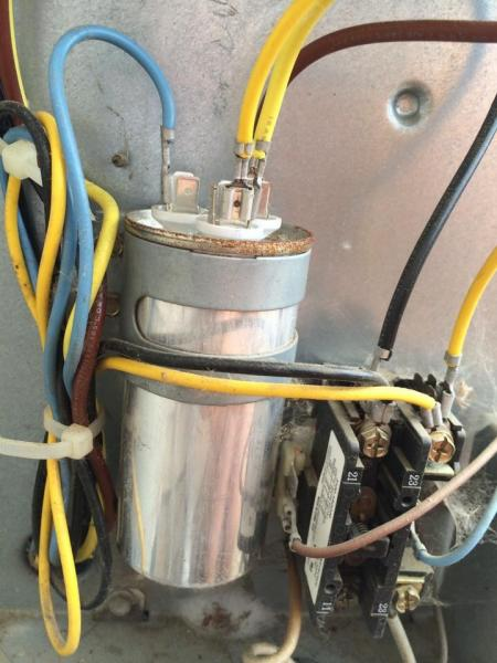 Capacitor Fan Motor Wiring Moreover Air Conditioner Capacitor Wiring