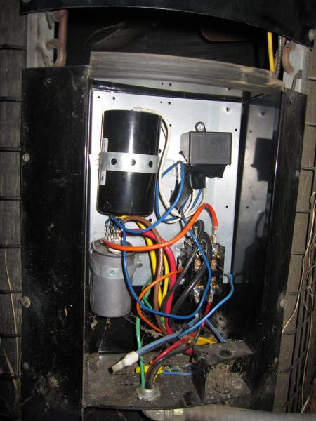 compressor pump diagram pir flood light wiring ac condensor unit not starting with thermostat - doityourself.com community forums