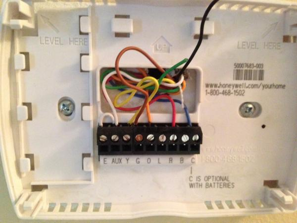 honeywell thermostat wiring diagram rth6350 door entry phone | get free image about