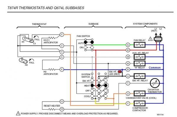 Honeywell Rth6350d Wiring Diagram
