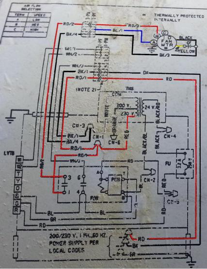37578d1409702632 new blower motor trane heat pump trane twv diagram trane heat pump wiring diagram efcaviation com Trane XE 80 Diagram at soozxer.org