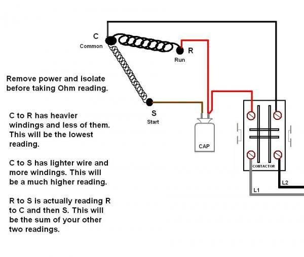 37766d1409998018 outdoor unit fan motorohmreading?resize=600%2C508&ssl=1 condenser fan wiring 100 images carrier condenser fan motor ac condenser motor wiring diagram at mifinder.co