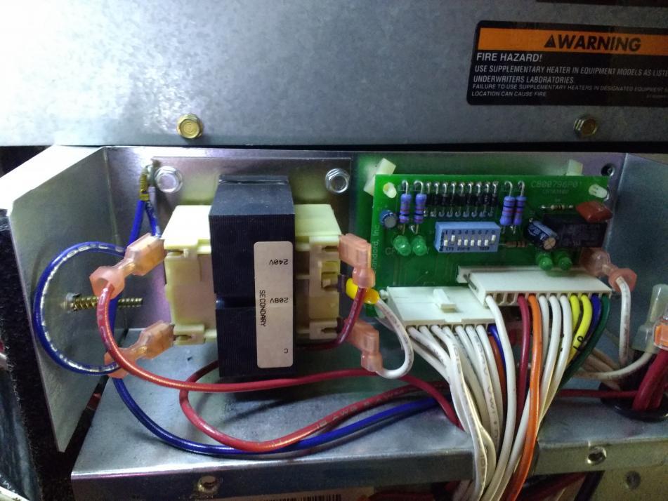 Hvac 24vac Transformer Wiring
