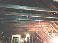 Removal of ceiling joists to vault ceiling on 3rd floor ...