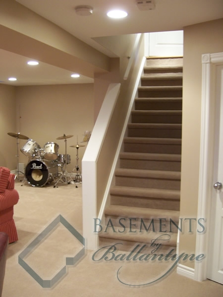 How To On Making Closed Basement Staircase Into An Open Half Wall   Half Wall Staircase Design   Railing   Limited Space Small Stair   Kitchen   Closed   Contemporary