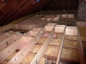 Raise attic floor over wires with 2x2s?  DoItYourself