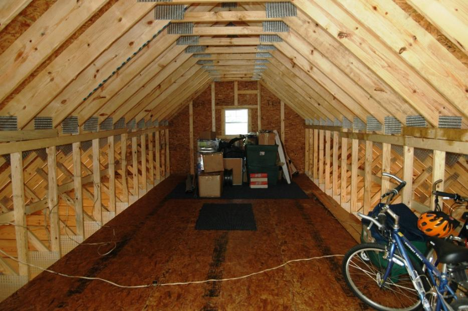 How to insulate and vent this garage attic  DoItYourself