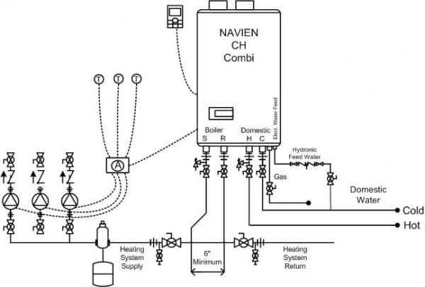 radiant heat thermostat wiring diagram