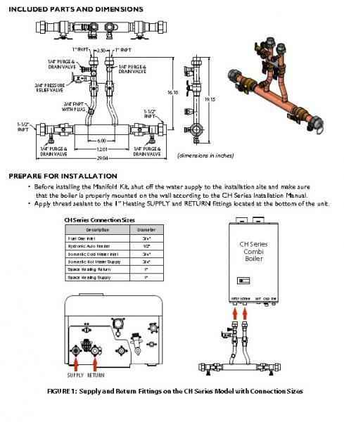 Navien Tankless Combi Boiler