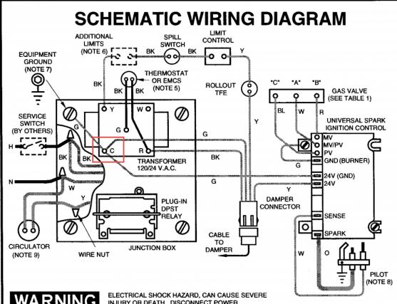Titan Water Heater N270 Wiring Diagram