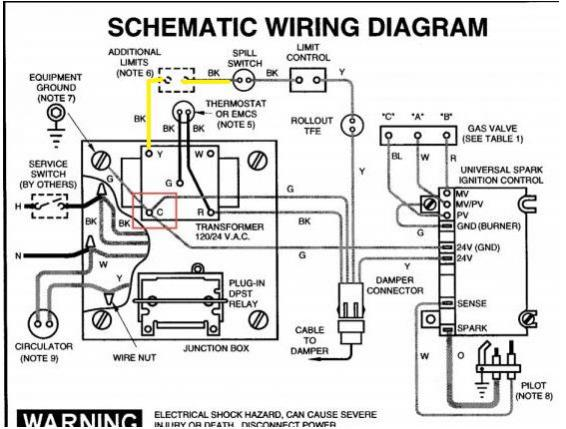 wiring diagram for hot water heater element car reverse light weil mclain - cgx c wire options and low cutoff disconnected doityourself.com ...