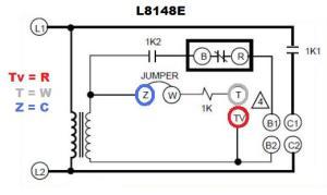 Honeywell Aquastat L8148E voltage  DoItYourself