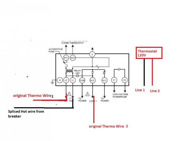 honeywell aquastat relay wiring diagram l8124l boiler   53
