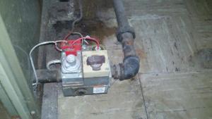 Connecting TacoSR504 to ancient Sears Aquastat