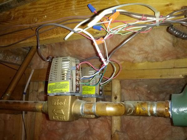 24v Transformer Wiring Diagram Adding A Common Wire To A Slant Fin V 120 Ep L8148e
