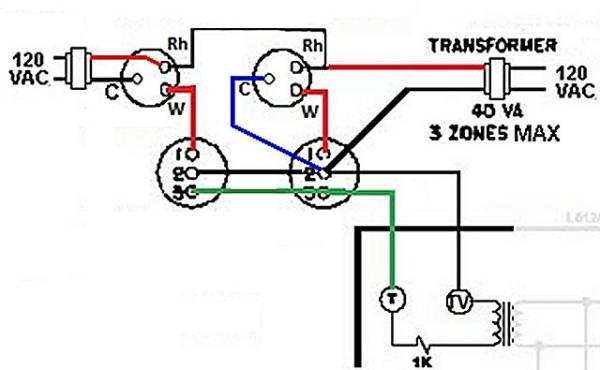 Help How To Wire 2 V8043E1012 Zone Valves Into A Weil
