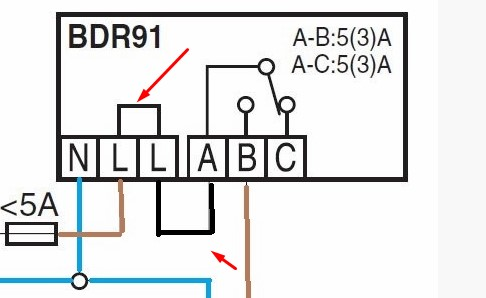 Help wiring Calleffi zone valve with Honeywell thermostat