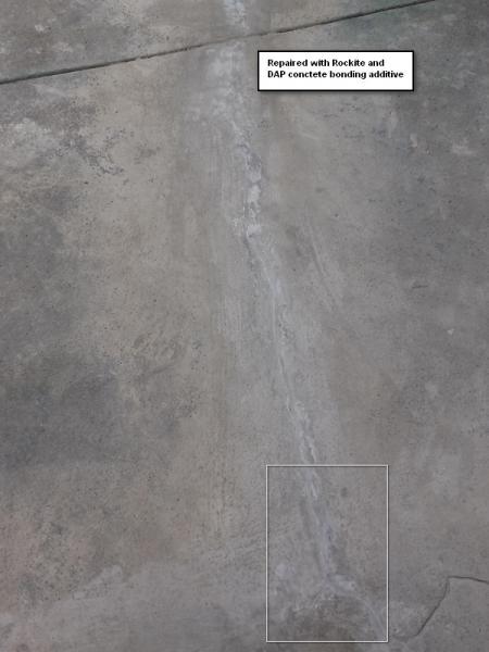 repairing cracks in concrete porch