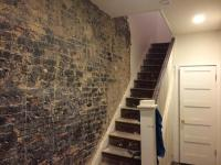 Removing Tar from Interior Exposed Brick Wall ...