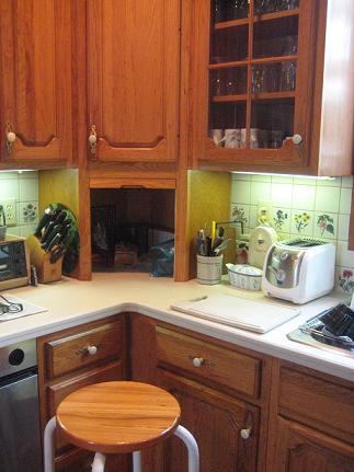 Relocating Cabinets and Replacing Countertops