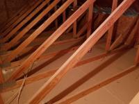 Ceiling storage in Garage beams 2x4 trusses HELP ...