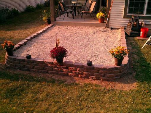 block patio slope question  DoItYourselfcom Community Forums