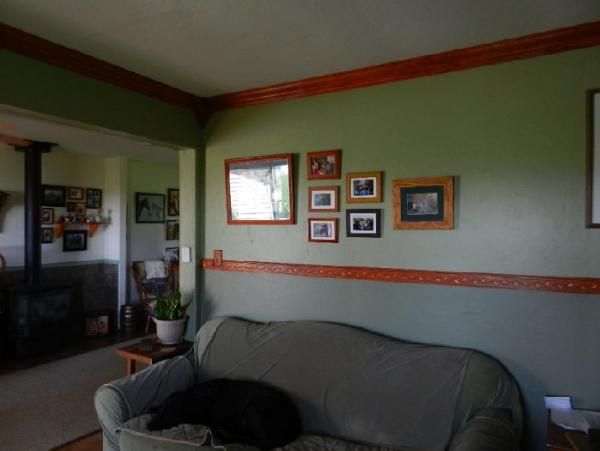 painting your living room feng shui pictures crown moulding & chair rail - doityourself.com ...