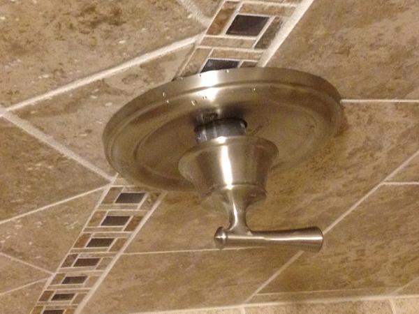 Shower faucet knob sticks out to far  DoItYourselfcom