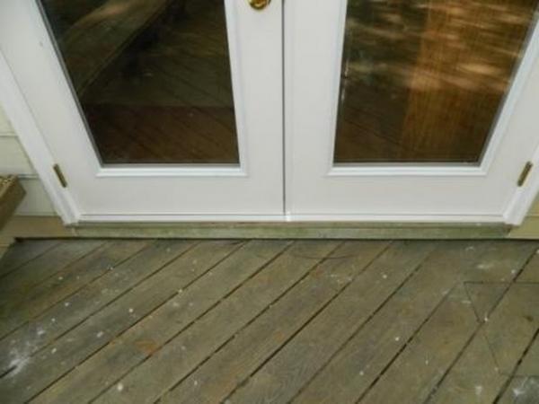 improper patio door install  DoItYourselfcom Community Forums