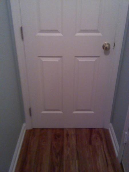 how to cut open door for vent to utilty room  DoItYourselfcom Community Forums