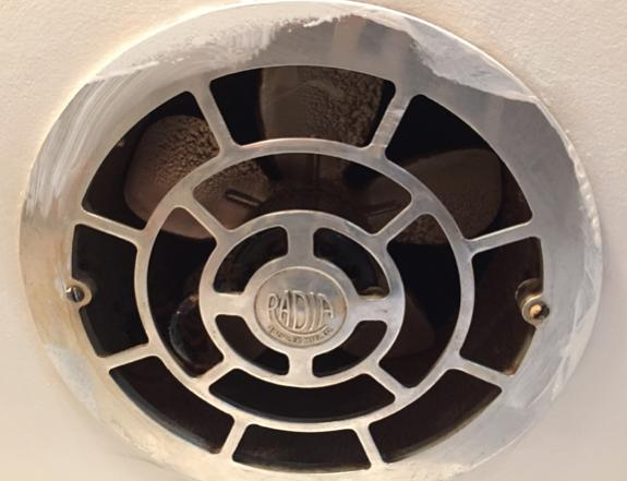 kitchen exhaust fan replacement