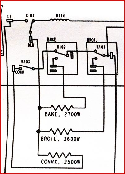 ge wiring diagram oven great hammerhead shark profile double wall jt965 - both bake and broil elements stopped working doityourself ...
