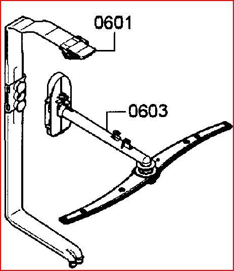 Bosch dishwasher water not getting to upper spray arm