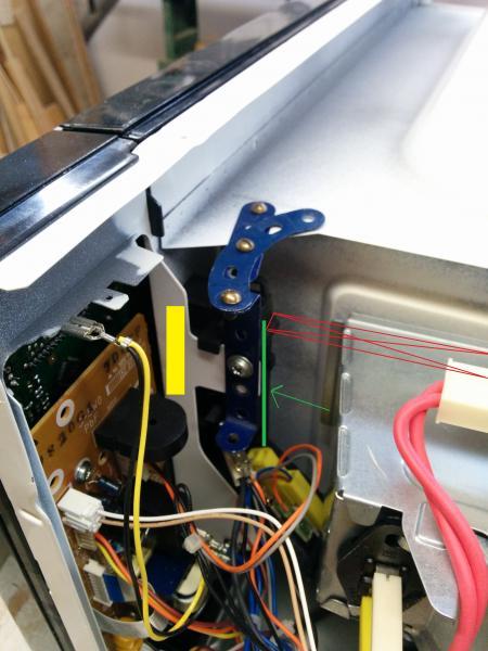 problem with door latch of panasonic