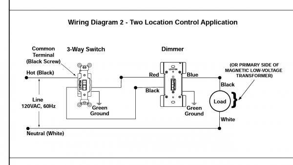 🏆 diagram in pictures database lutron three way dimmer